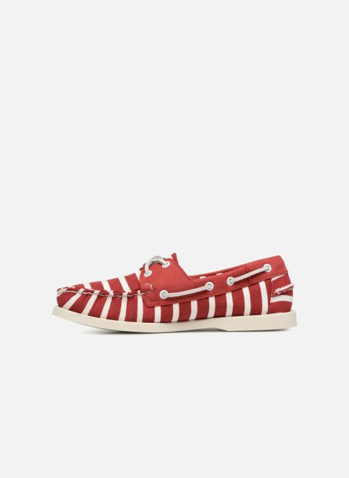 Lace-up shoes Sebago Docksides Sebago X Armorlux M Red front view
