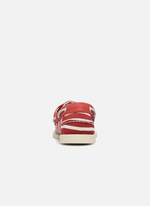 Lace-up shoes Sebago Docksides Sebago X Armorlux M Red view from the right