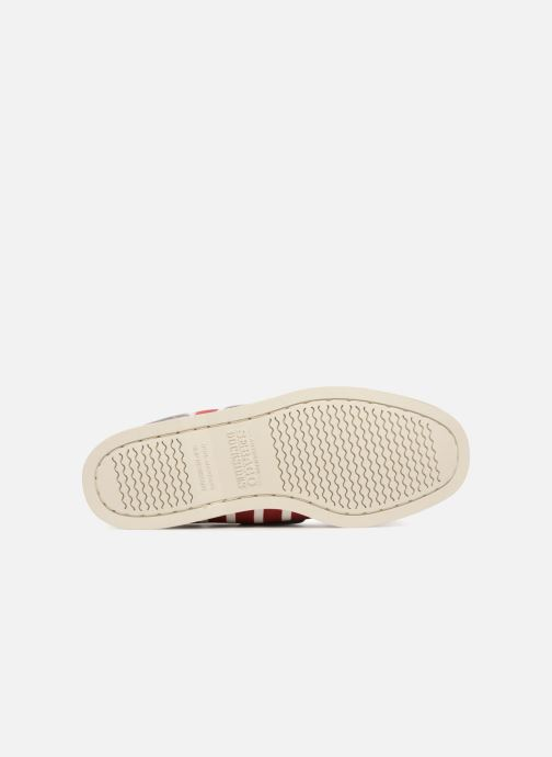 Lace-up shoes Sebago Docksides Sebago X Armorlux M Red view from above