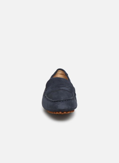 Mocassins Sebago Penelope Penny Bleu vue portées chaussures