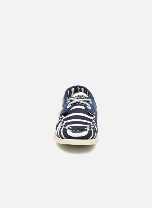 Lace-up shoes Sebago Docksides Sebago X Armorlux Blue model view