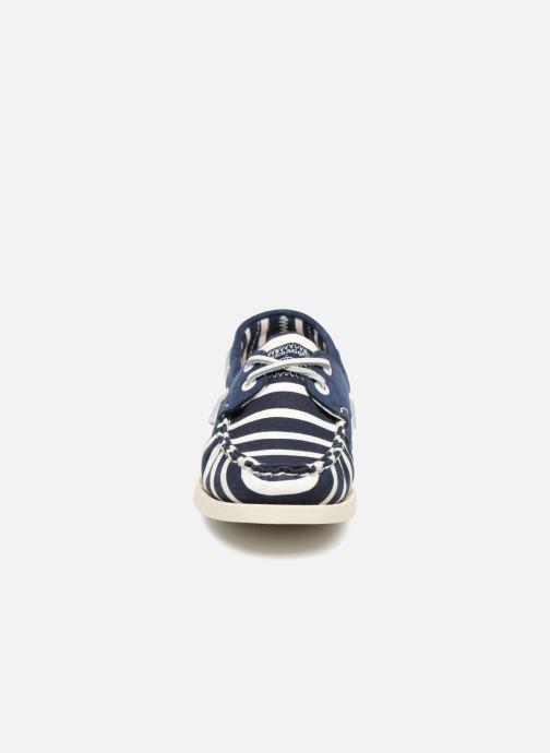 Chaussures à lacets Sebago Docksides Sebago X Armorlux Bleu vue portées chaussures