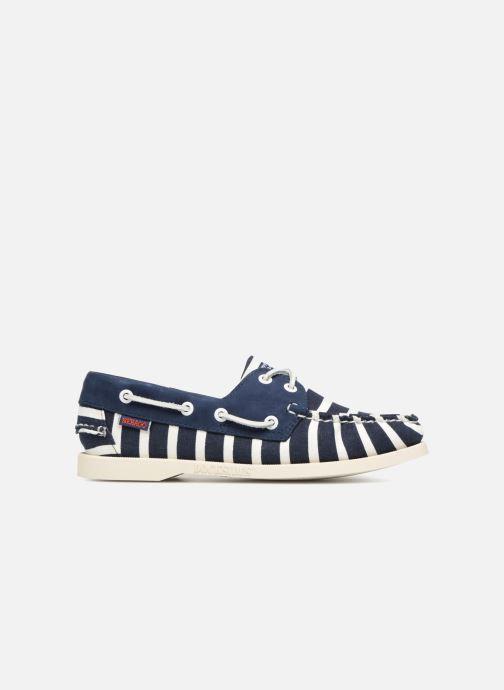 Chaussures à lacets Sebago Docksides Sebago X Armorlux Bleu vue derrière