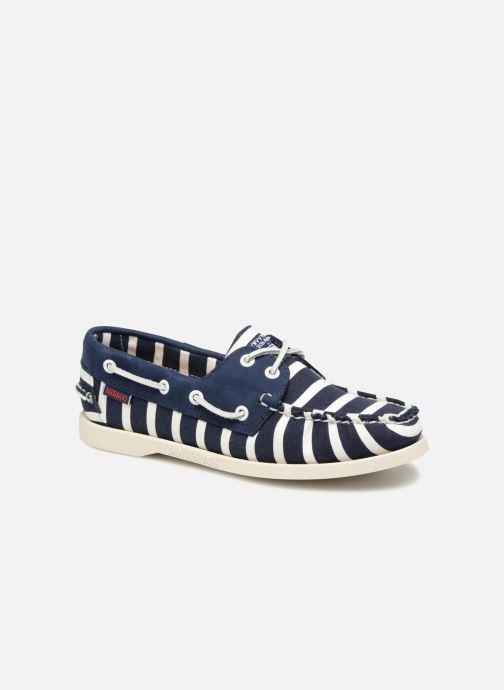 dd3937c17a5c3 Chaussures à lacets Sebago Docksides Sebago X Armorlux Bleu vue détail paire