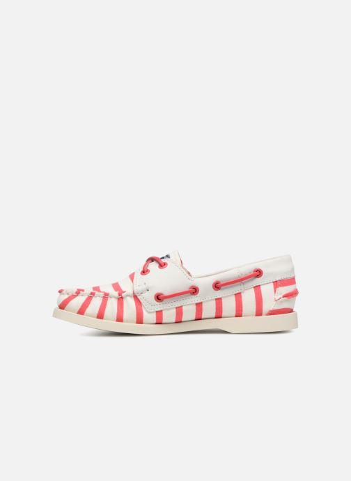 Chaussures à lacets Sebago Docksides Sebago X Armorlux Rose vue face