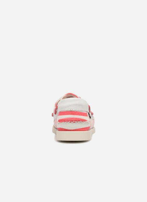 Chaussures à lacets Sebago Docksides Sebago X Armorlux Rose vue droite