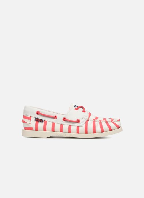 Zapatos con cordones Sebago Docksides Sebago X Armorlux Rosa vistra trasera