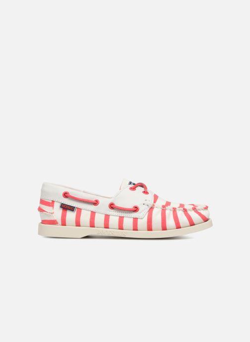 Chaussures à lacets Sebago Docksides Sebago X Armorlux Rose vue derrière