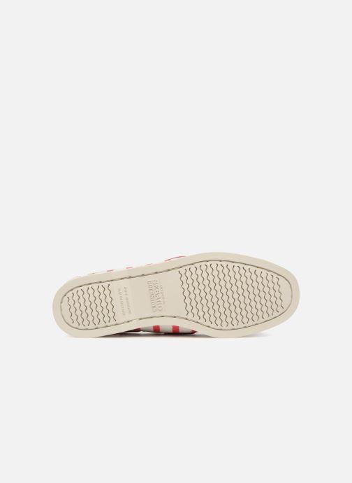 Chaussures à lacets Sebago Docksides Sebago X Armorlux Rose vue haut