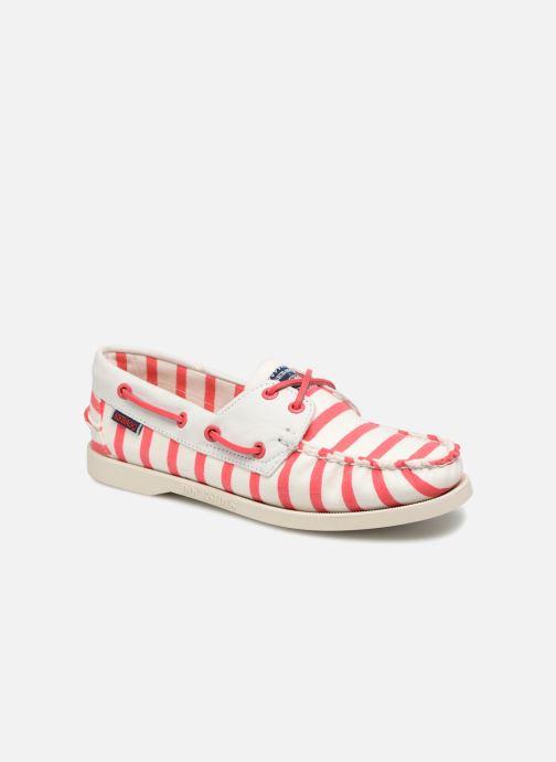 Chaussures à lacets Sebago Docksides Sebago X Armorlux Rose vue détail/paire