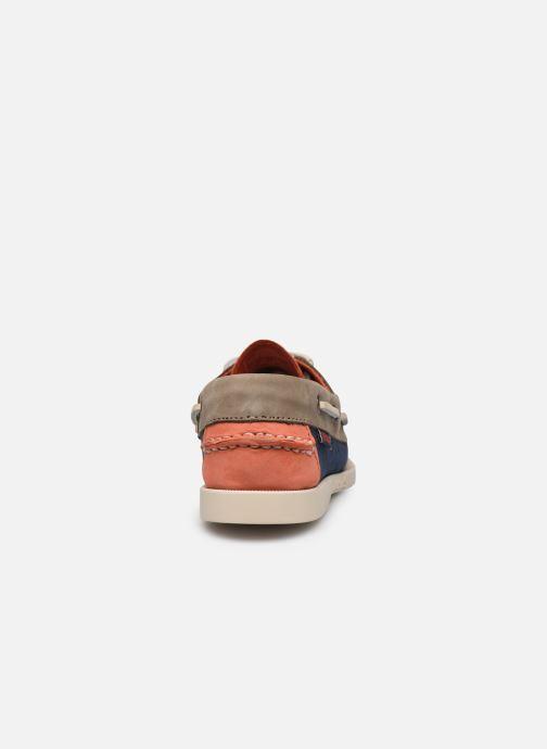 Chaussures à lacets Sebago Spinnaker1 Bleu vue droite