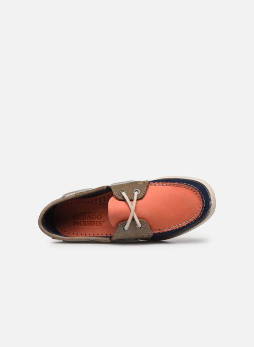 Chaussures à lacets Sebago Spinnaker1 Bleu vue gauche