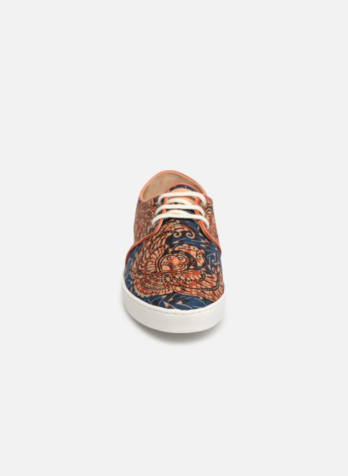 Baskets Panafrica Oasis M Bleu vue portées chaussures