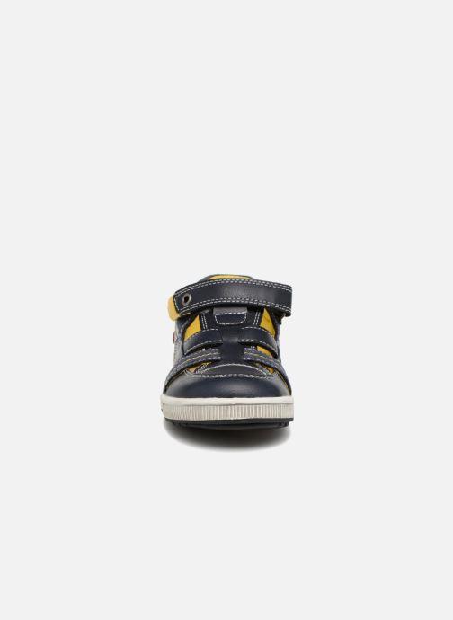 Sandales et nu-pieds NA! Alvino Bleu vue portées chaussures