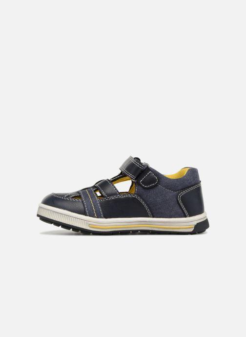 Sandales et nu-pieds NA! Alvino Bleu vue face