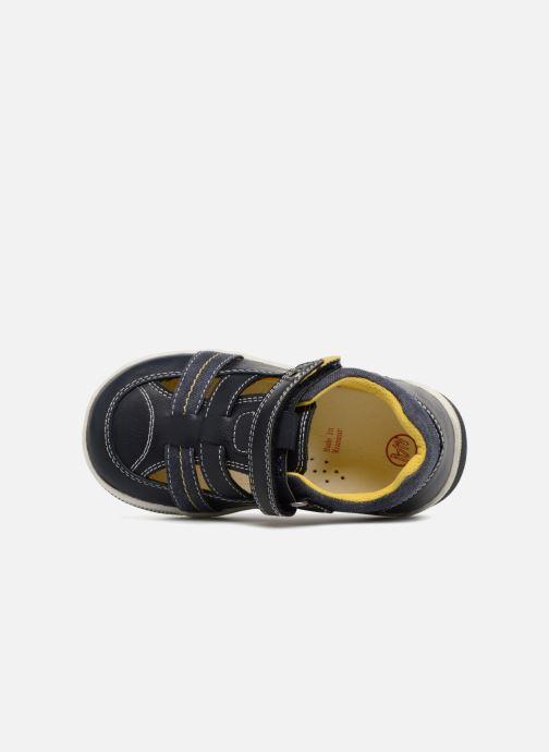 Sandales et nu-pieds NA! Alvino Bleu vue gauche