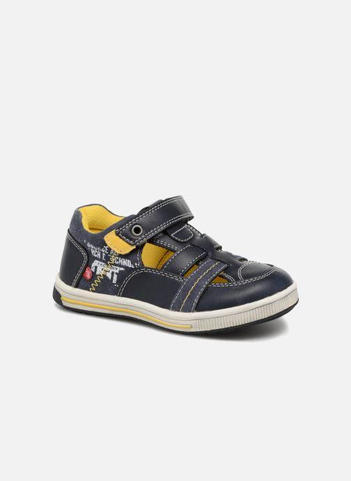 Sandales et nu-pieds NA! Alvino Bleu vue détail/paire