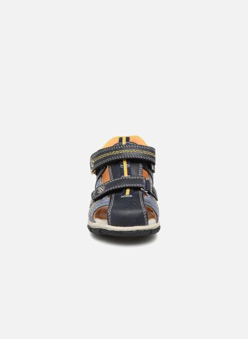 Sandales et nu-pieds NA! Anime Bleu vue portées chaussures
