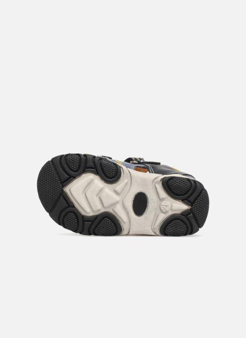 Sandales et nu-pieds NA! Anime Bleu vue haut