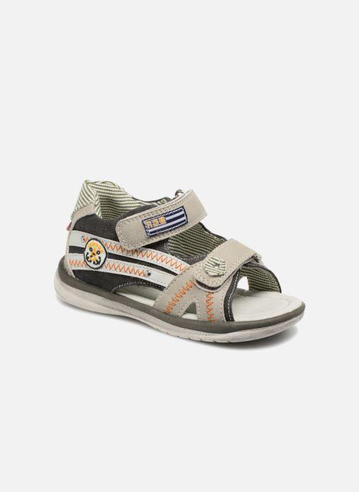 Sandales et nu-pieds NA! Acapulco Gris vue détail/paire