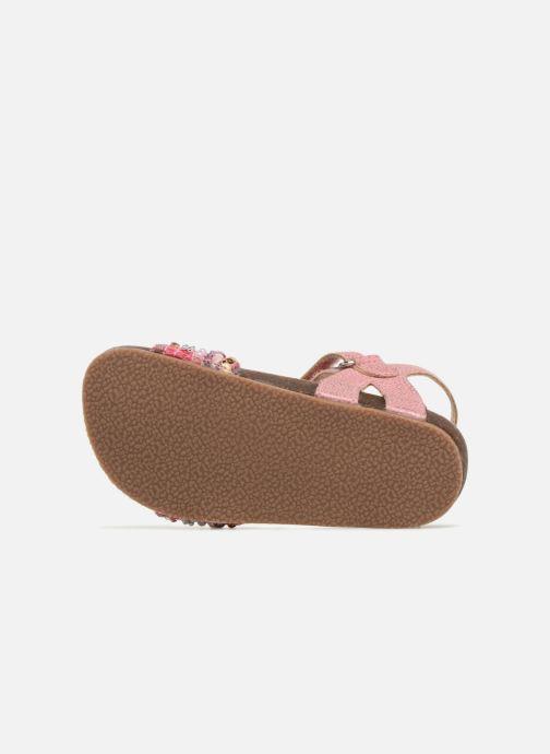Sandalen NA! Alyssa Roze boven