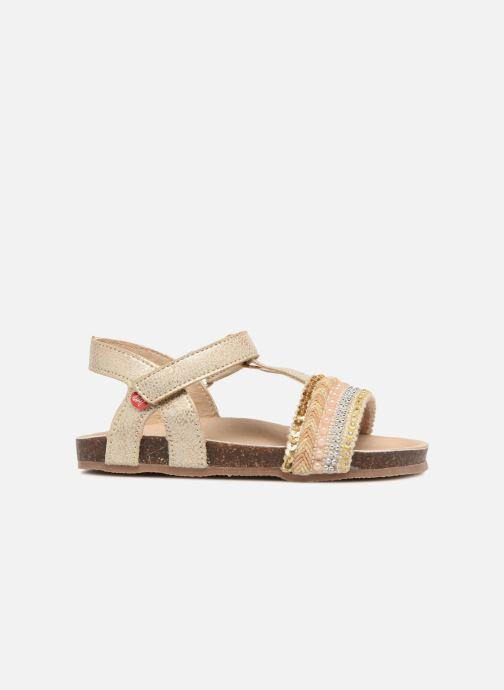 Sandales et nu-pieds NA! Alyssa Or et bronze vue derrière