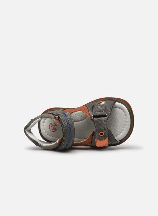 Sandalen NA! Anick braun ansicht von links