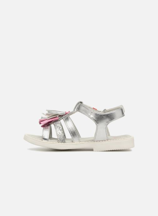 Sandals NA! Api Silver front view