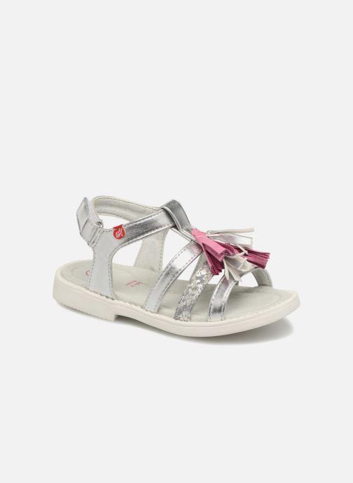 Sandales et nu-pieds NA! Api Argent vue détail/paire