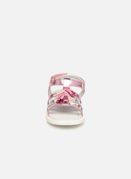 Sandales et nu-pieds NA! Api Multicolore vue portées chaussures