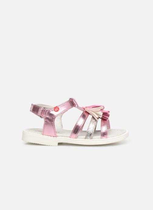 Sandales et nu-pieds NA! Api Multicolore vue derrière