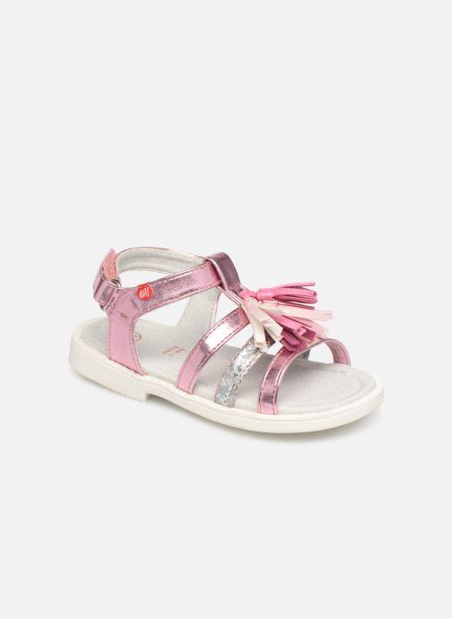 Sandales et nu-pieds NA! Api Multicolore vue détail/paire