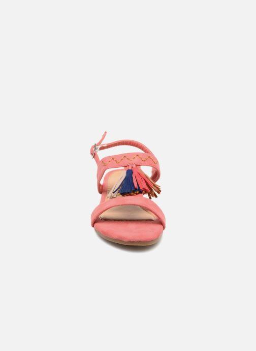 Sandales et nu-pieds NA! Santiana Rose vue portées chaussures