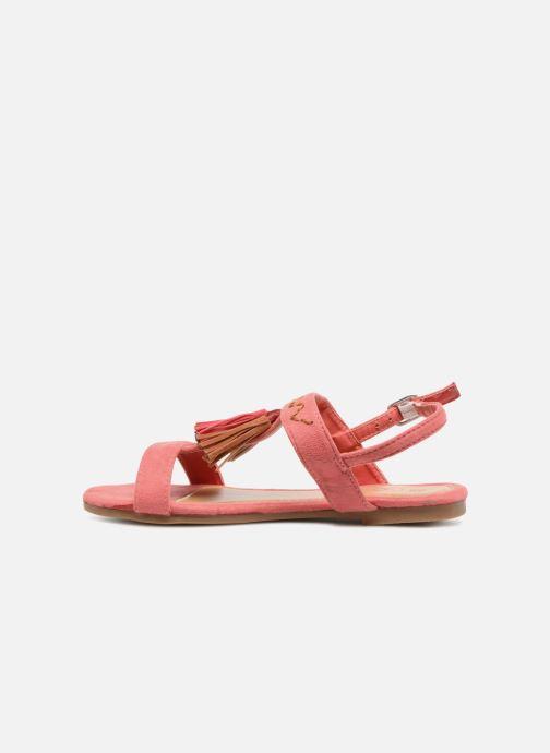 Sandales et nu-pieds NA! Santiana Rose vue face
