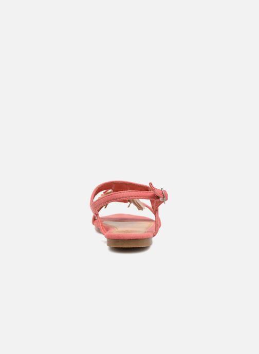 Sandales et nu-pieds NA! Santiana Rose vue droite