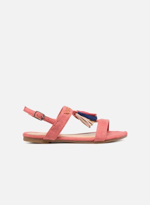 Sandales et nu-pieds NA! Santiana Rose vue derrière