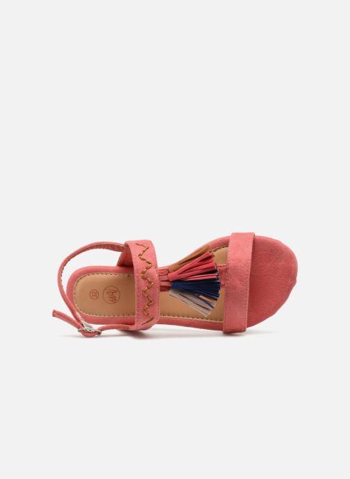 Sandalen NA! Santiana rosa ansicht von links