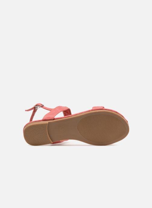 Sandales et nu-pieds NA! Santiana Rose vue haut