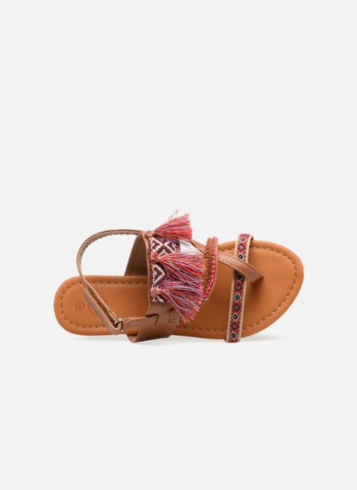 Sandals NA! Sauvage Brown view from the left