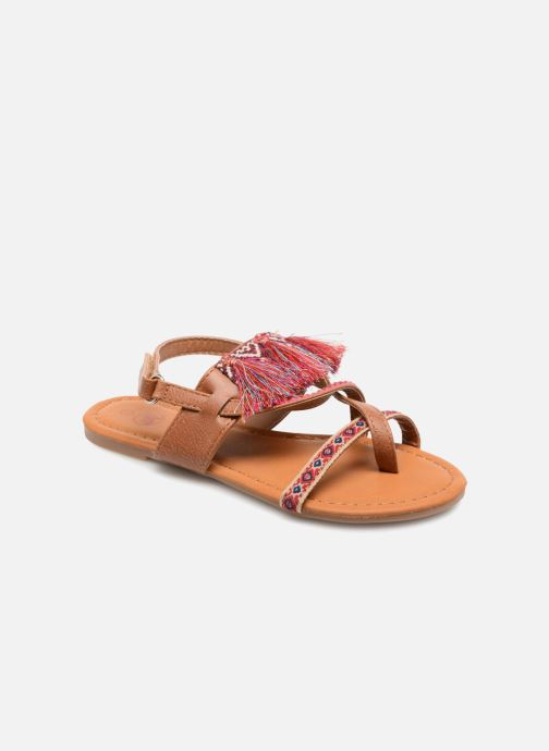 Sandals NA! Sauvage Brown detailed view/ Pair view