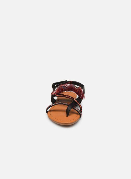 Sandales et nu-pieds NA! Sauvage Noir vue portées chaussures