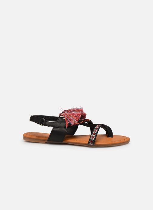 Sandales et nu-pieds NA! Sauvage Noir vue derrière