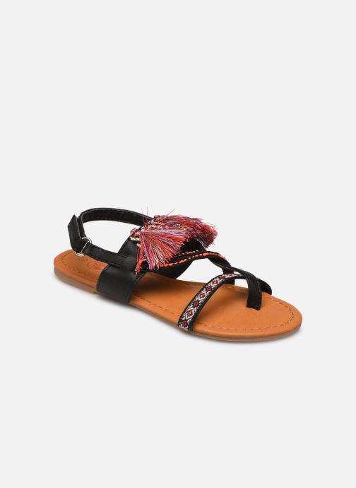 Sandales et nu-pieds NA! Sauvage Noir vue détail/paire