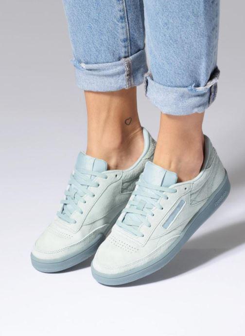 Sneakers Reebok CLUB C 85 LACE Lila bild från under