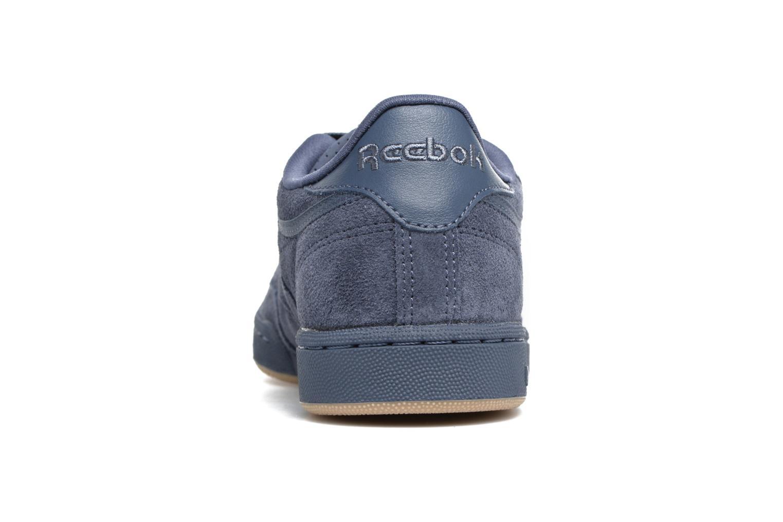 Baskets Reebok CLUB C/BS7285 Bleu vue droite