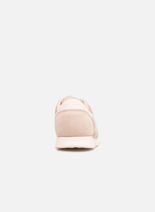 Sneakers Reebok CL nylon Beige rechts
