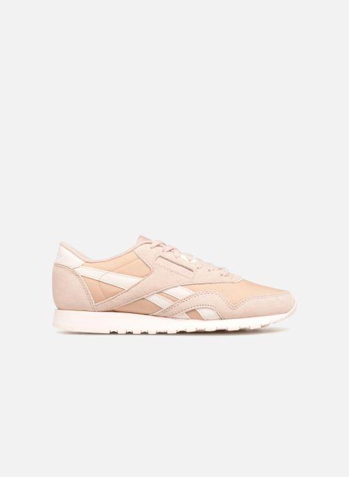 Sneakers Reebok CL nylon Beige achterkant