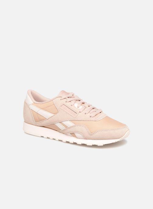 Sneakers Reebok CL nylon Beige detail