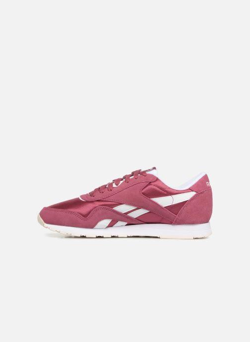 Sneakers Reebok CL nylon Paars voorkant