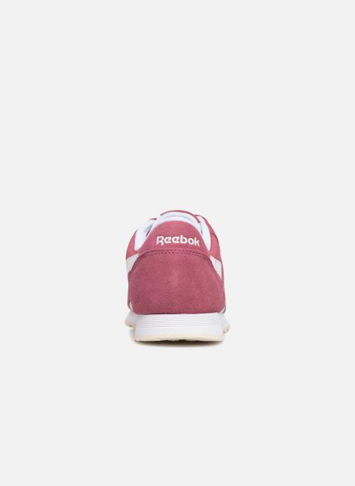 Sneakers Reebok CL nylon Paars rechts
